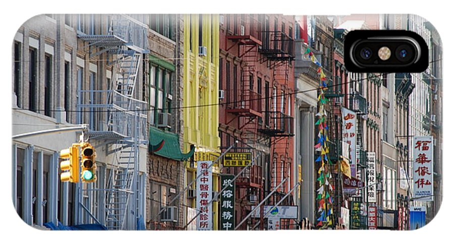 Architecture IPhone Case featuring the photograph Chinatown Walk Ups by Rob Hans