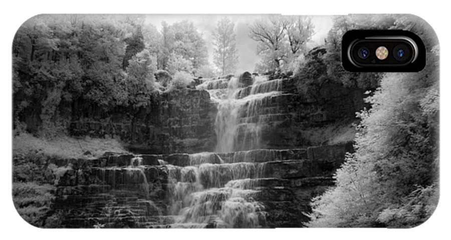 Chittenango Falls IPhone X Case featuring the photograph Chittenango Falls 1 by Mike Kurec