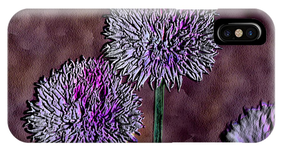 Ebsq IPhone Case featuring the photograph Chives by Dee Flouton