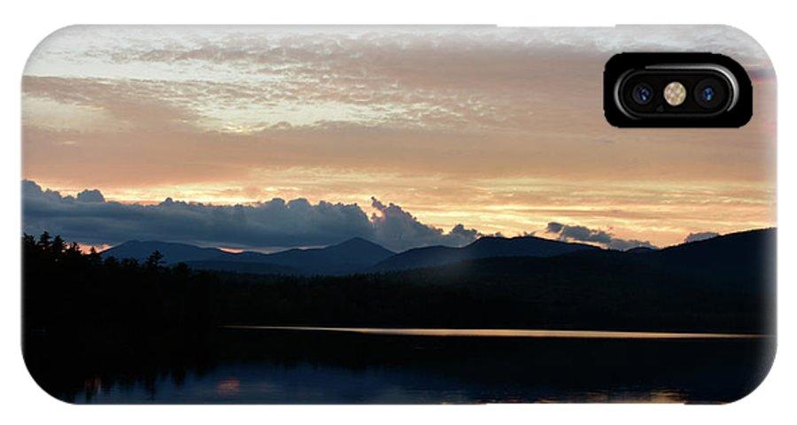Chocorua IPhone X Case featuring the photograph Chocorua At Sunset 2 by Ron Hebert