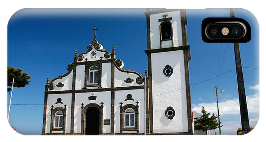 Sao Miguel IPhone X Case featuring the photograph Church In The Azores by Gaspar Avila