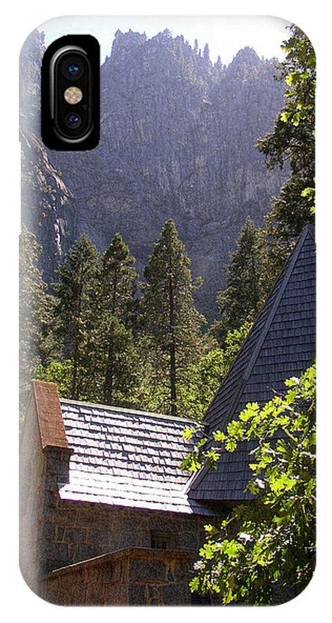 Mountain Landscape IPhone X Case featuring the photograph Church In The Wilderness-yosemite by Glenn McCarthy Art and Photography