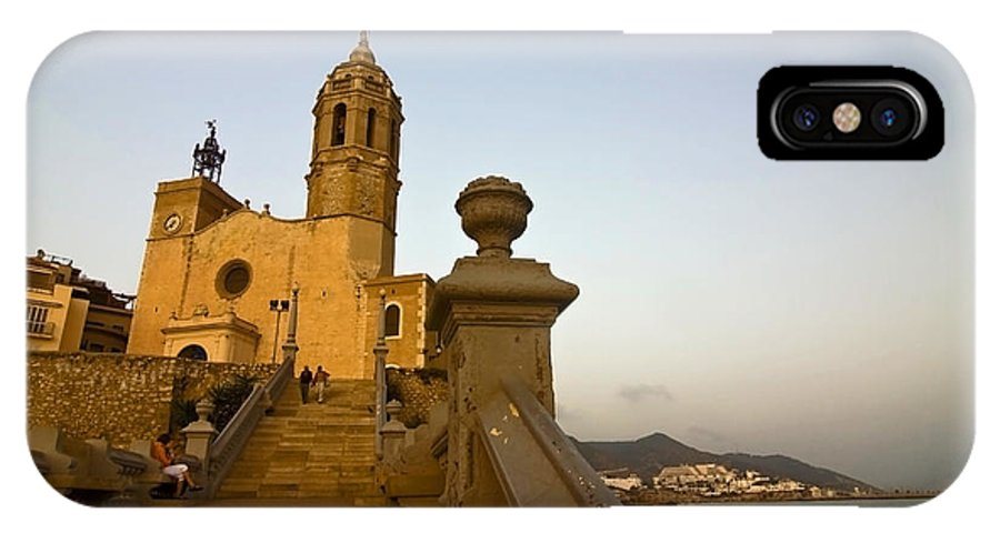 Church IPhone Case featuring the photograph Church On The Spanish Rivera by Sven Brogren