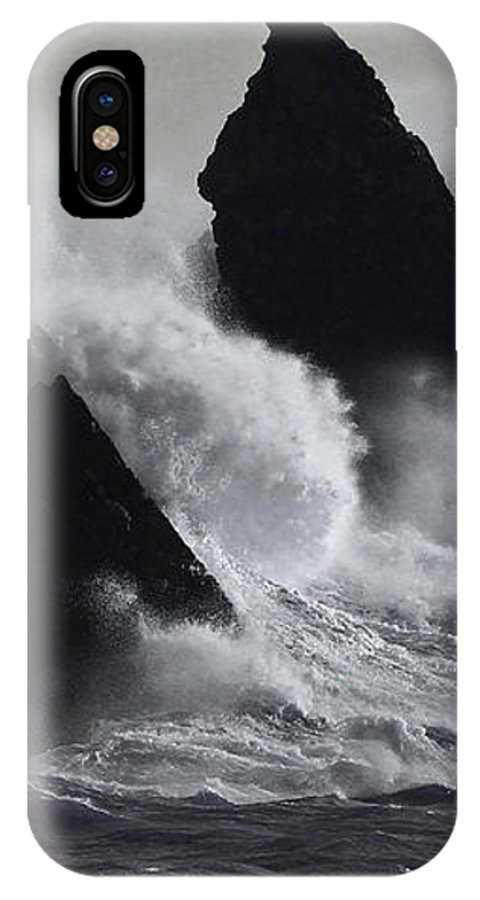 Ocean IPhone X Case featuring the photograph Church Rock Explosion by Mark Haynes