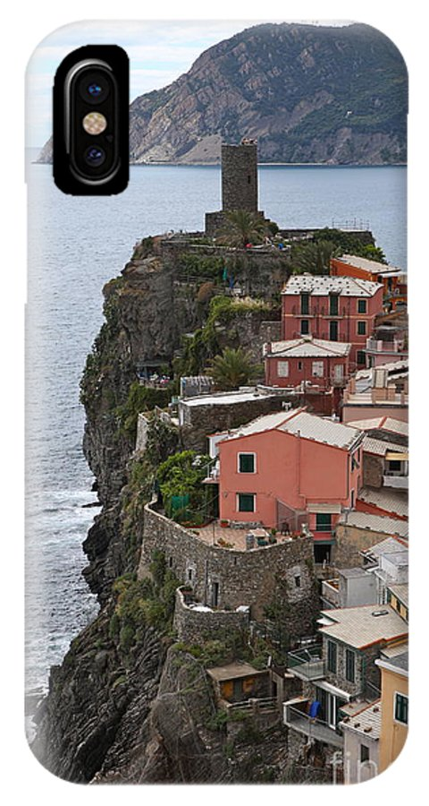 Italy iPhone X Case featuring the photograph Cinque Terre by Nadine Rippelmeyer