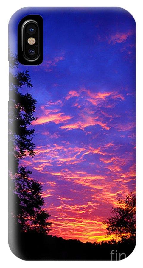 West Virginia IPhone X Case featuring the photograph Cirrocumulus Undulatus by Thomas R Fletcher
