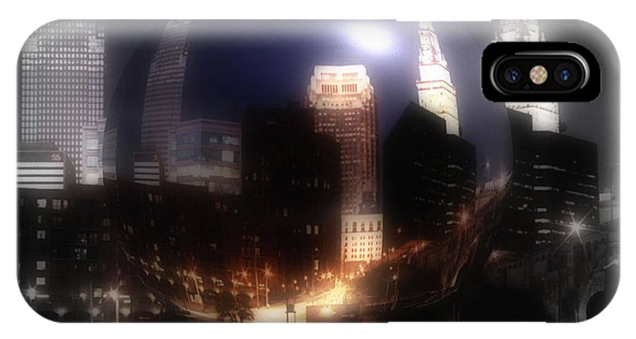 Cleveland IPhone Case featuring the photograph City On The North Coast by Kenneth Krolikowski