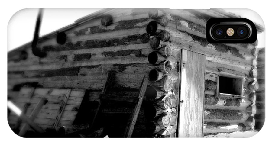 Army IPhone Case featuring the photograph Civil War Cabin 1 Army Heritage Education Center by Jean Macaluso