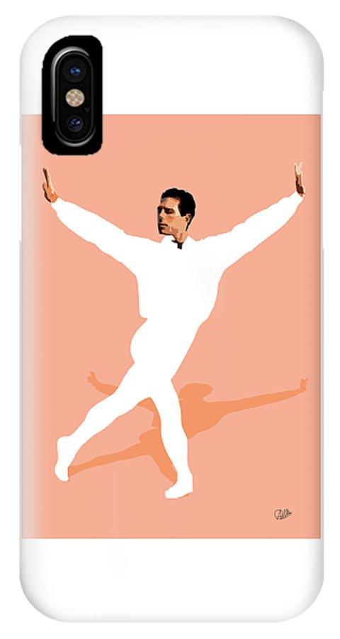 Dancer IPhone X Case featuring the digital art Ballet Master Dancer by Joaquin Abella