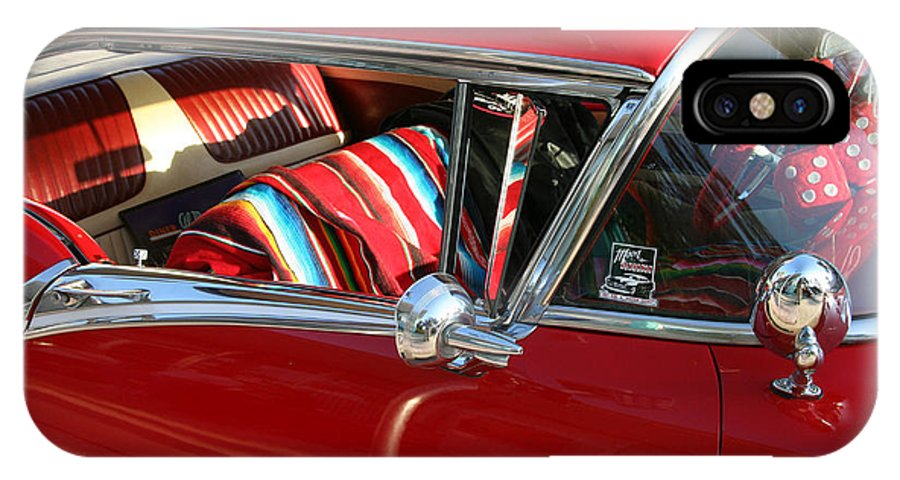 Red IPhone Case featuring the photograph Classic Chevy by Carl Purcell