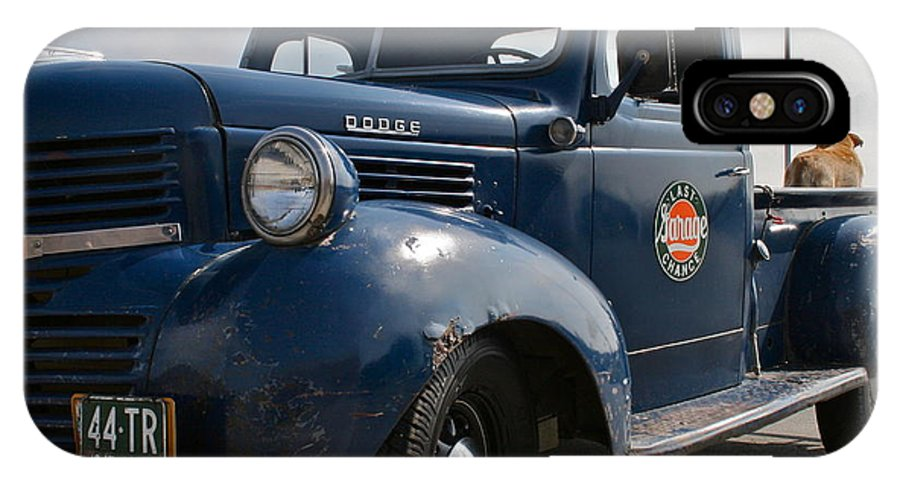 Truck IPhone X Case featuring the photograph Classic Dodge by Rick Monyahan