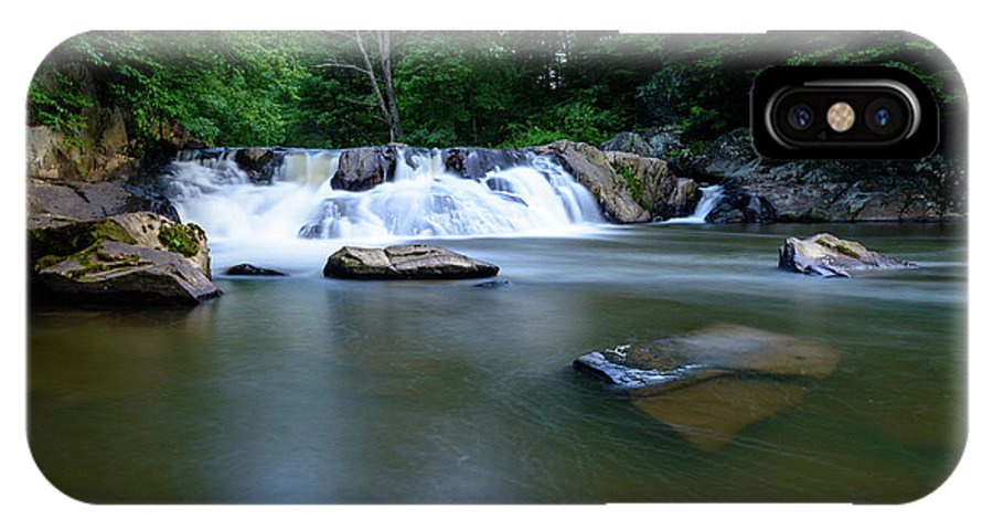 Chestnut IPhone X Case featuring the photograph Clear Creek by Michael Scott