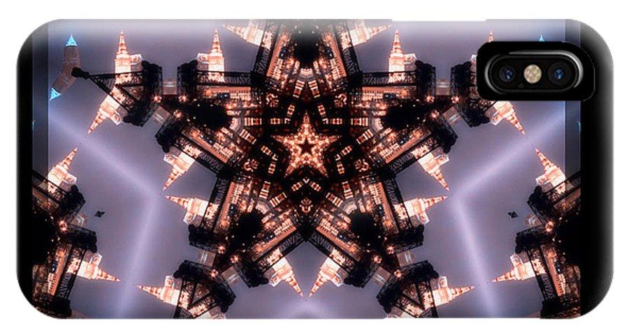 Cleveland IPhone Case featuring the photograph Cleveland Kaleidoscope IIi by Kenneth Krolikowski