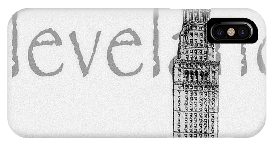 Cleveland IPhone Case featuring the digital art Cleveland by Kenneth Krolikowski