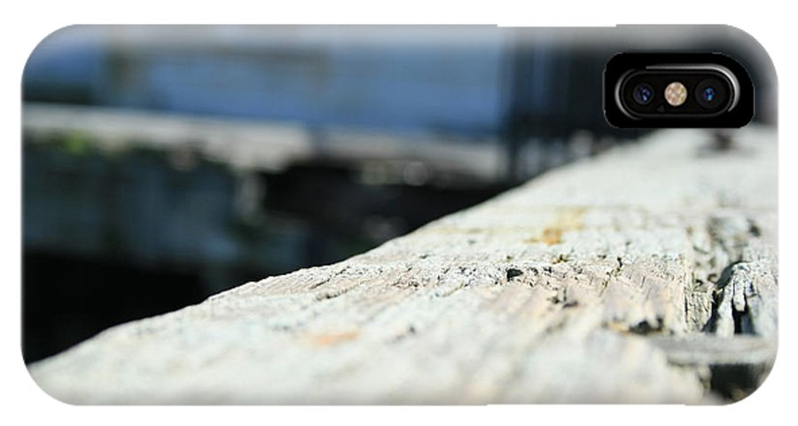 Close Up IPhone Case featuring the photograph Close Up Bench by Joshua Sunday