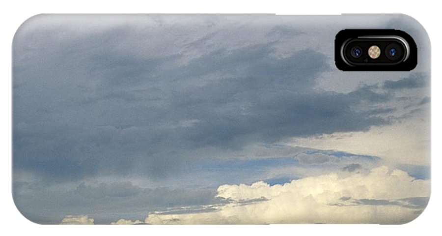 Storm Clouds IPhone X Case featuring the photograph Cloud Cover by Erin Paul Donovan