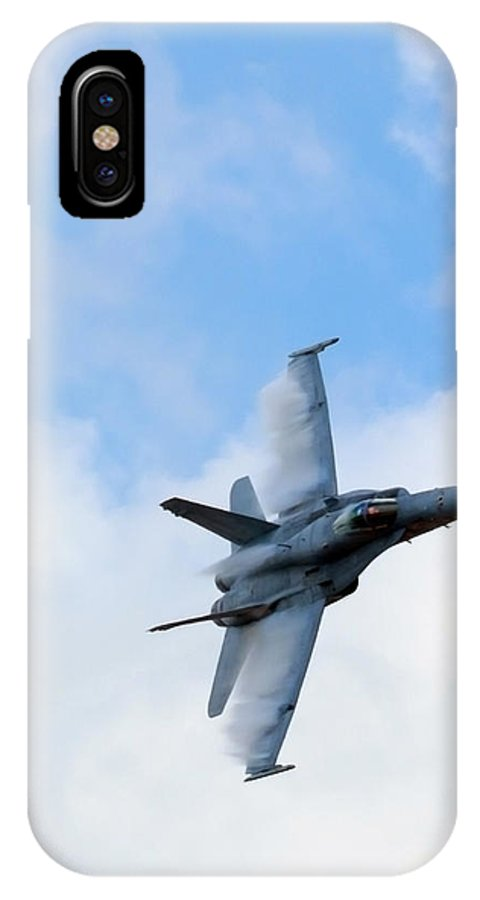 Us IPhone X Case featuring the photograph Cloud Cutter by Travis Rogers