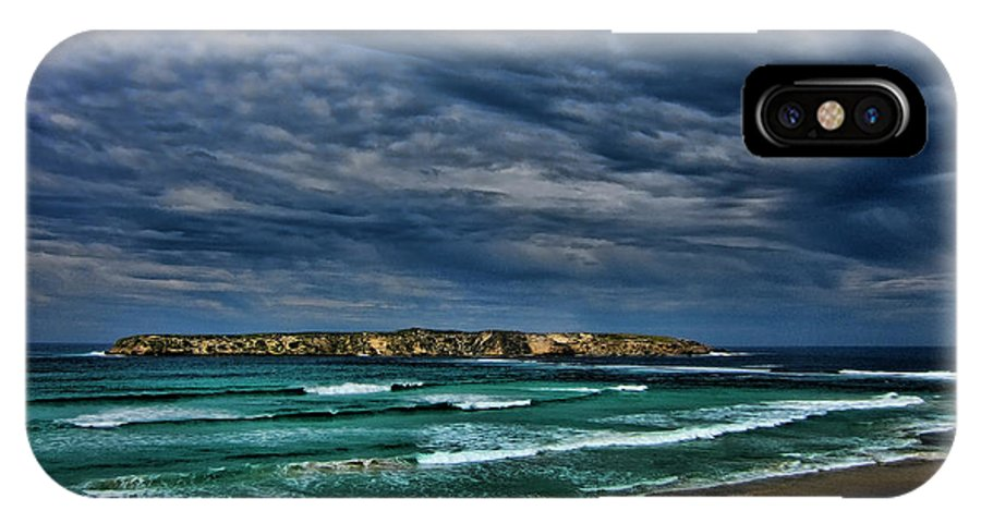 Clouds IPhone X Case featuring the photograph Cloud Spectacular by Douglas Barnard