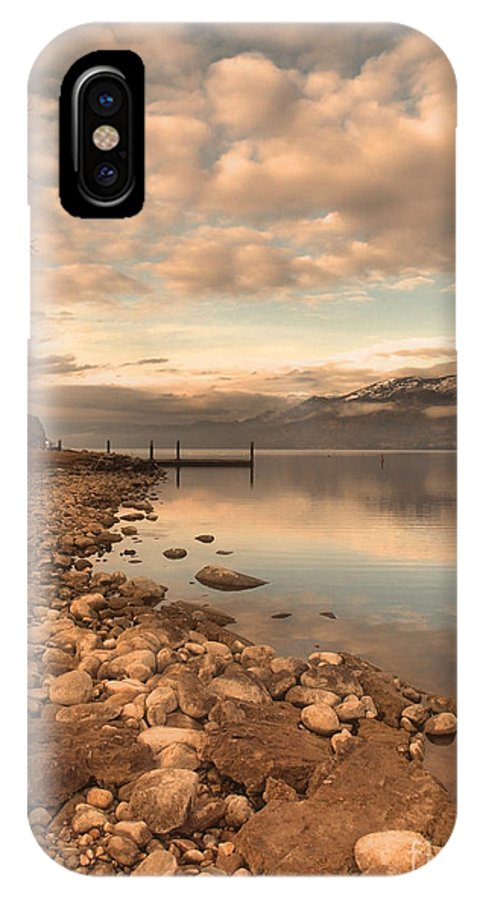 Clouds IPhone X Case featuring the photograph Clouds And Calmness by Tara Turner