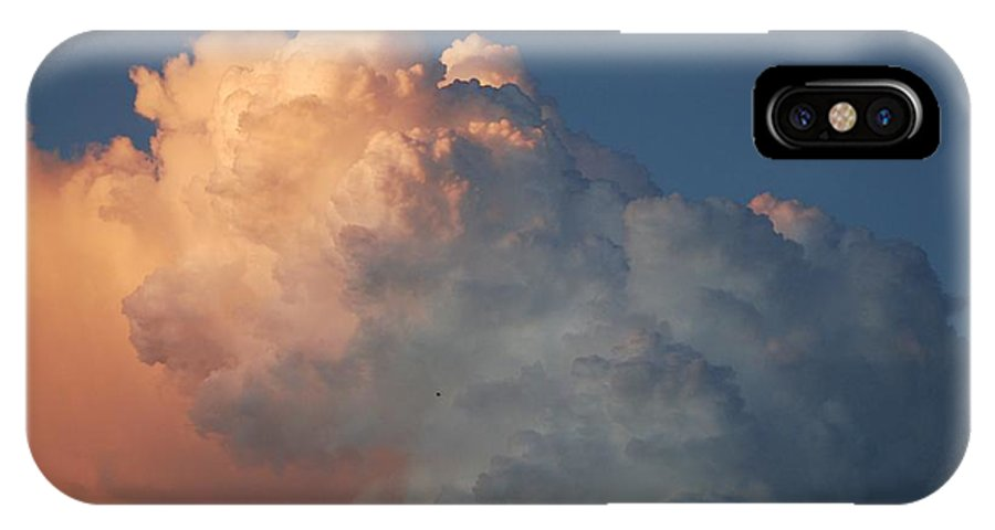 Clouds IPhone X Case featuring the photograph Clouds Are Always Greener by Rob Hans