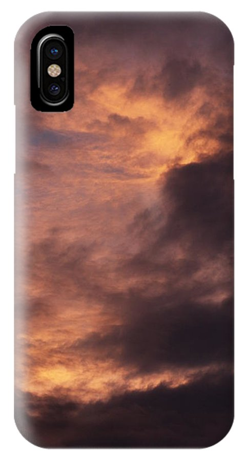 Clay IPhone X Case featuring the photograph Clouds by Clayton Bruster