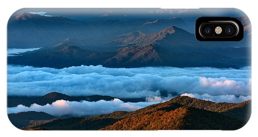 Great Smoky Mountains National Park IPhone X Case featuring the photograph Clouds In The Valley by Rick Berk