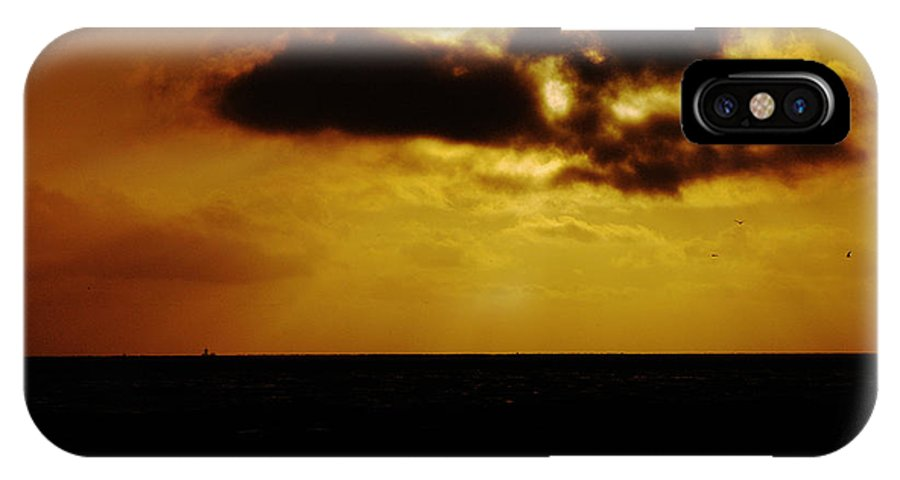 Clay IPhone Case featuring the photograph Clouds Over The Ocean by Clayton Bruster