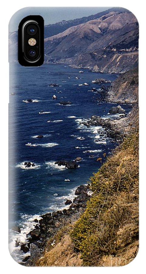 Landscape IPhone X / XS Case featuring the photograph Coastal Love by Noze P