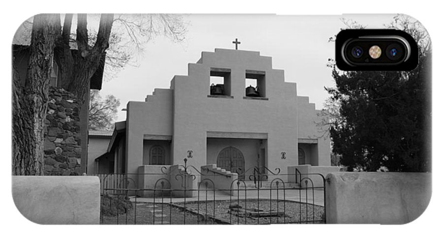 Architecture IPhone Case featuring the photograph Cochiti Church by Rob Hans