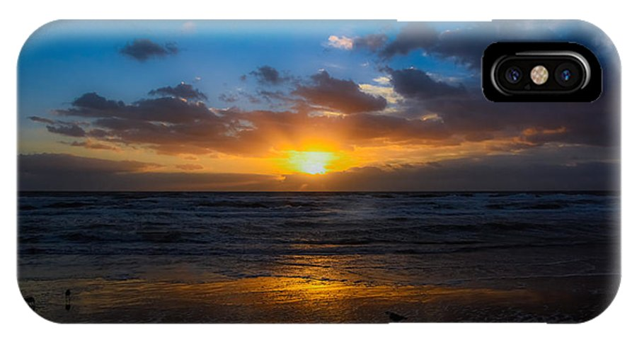 IPhone X Case featuring the photograph Cocoa Beach Sunrise 5 by DeSantis Digital Works