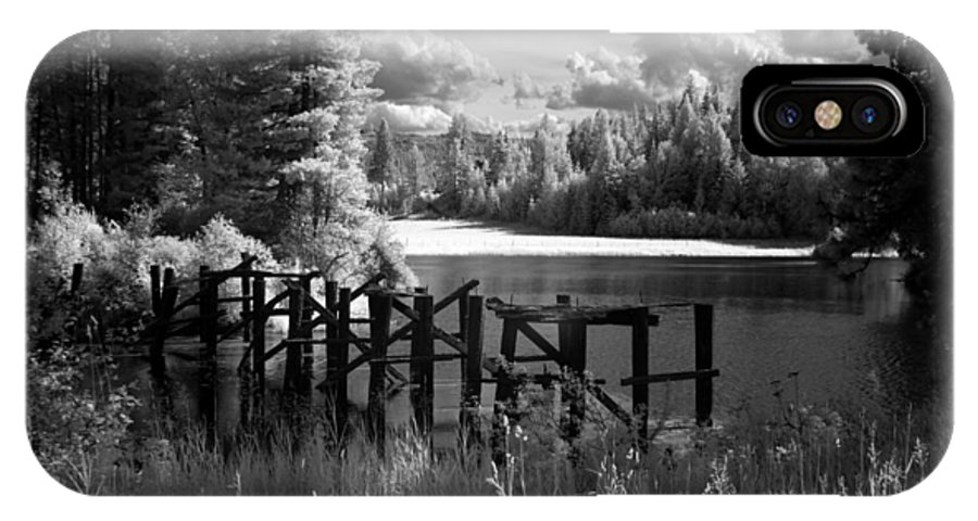 IPhone X Case featuring the photograph Cocolala Creek Slough 2 by Lee Santa
