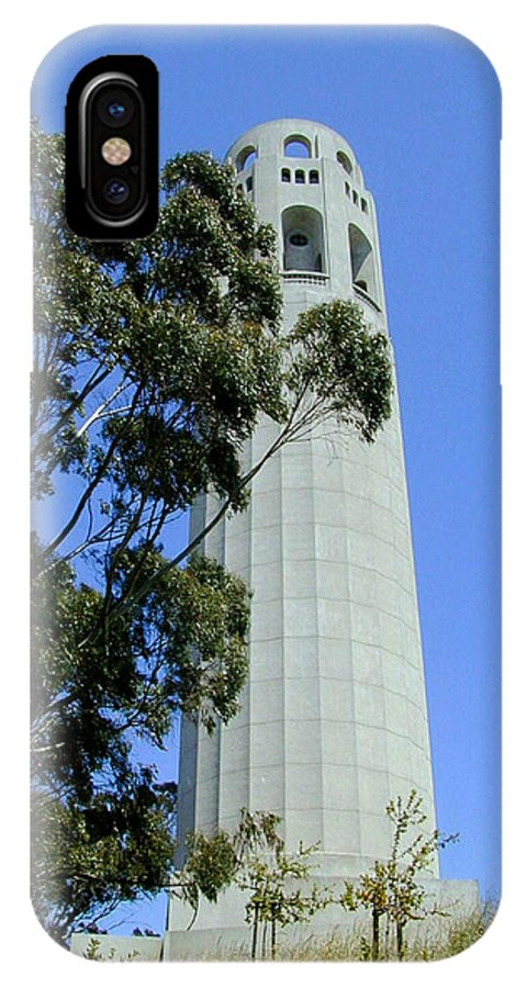 Coit IPhone Case featuring the photograph Coit Tower by Douglas Barnett