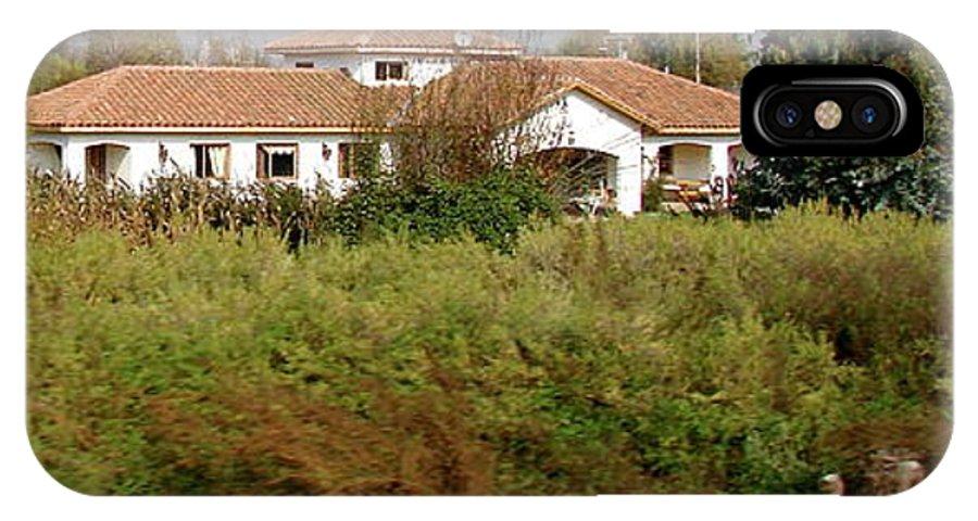 Colchagua IPhone X Case featuring the photograph Colchagua Valley Villa by Brett Winn