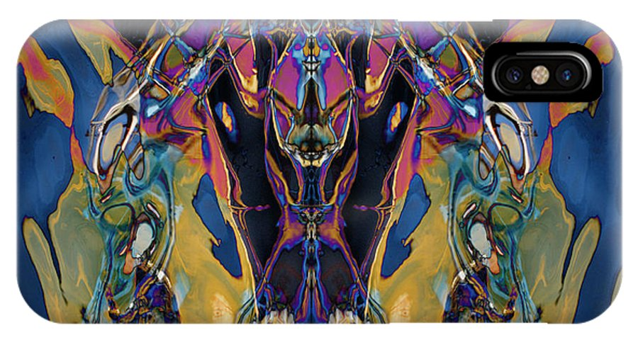 Digital IPhone X Case featuring the photograph Color Abstraction Xxi by David Gordon
