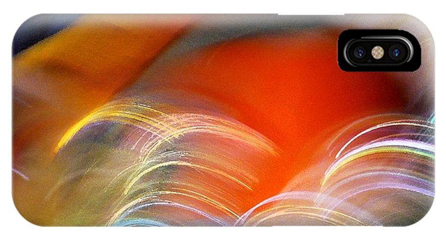 Abstract IPhone Case featuring the photograph Color Hop by Florene Welebny