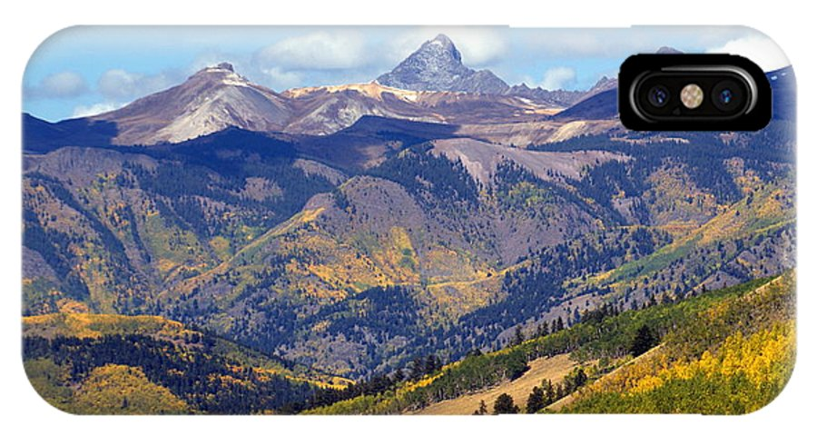 Mountains IPhone X Case featuring the photograph Colorado Mountains 1 by Marty Koch