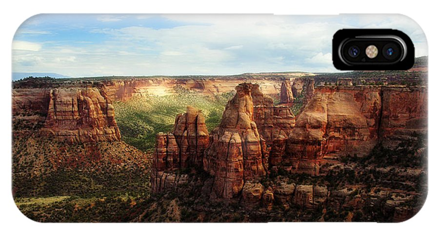 Americana IPhone Case featuring the photograph Colorado National Monument by Marilyn Hunt