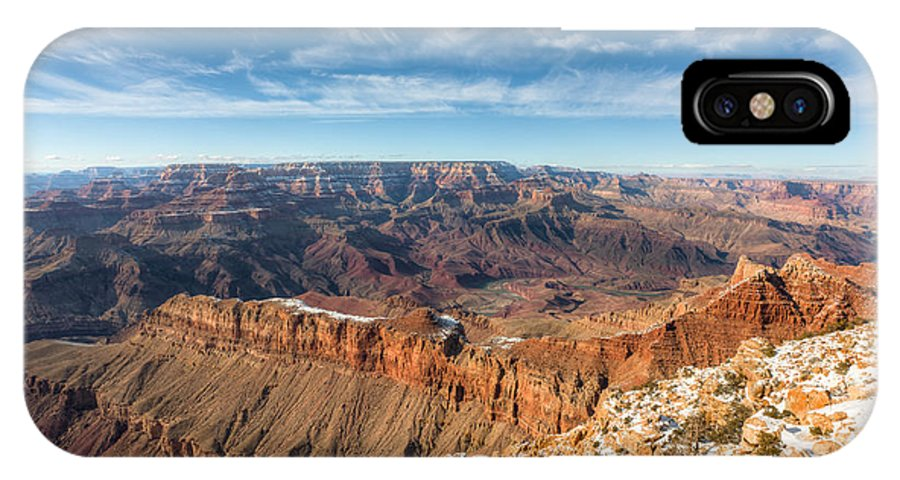 Clarence Holmes IPhone X Case featuring the photograph Colorado River And The Grand Canyon by Clarence Holmes