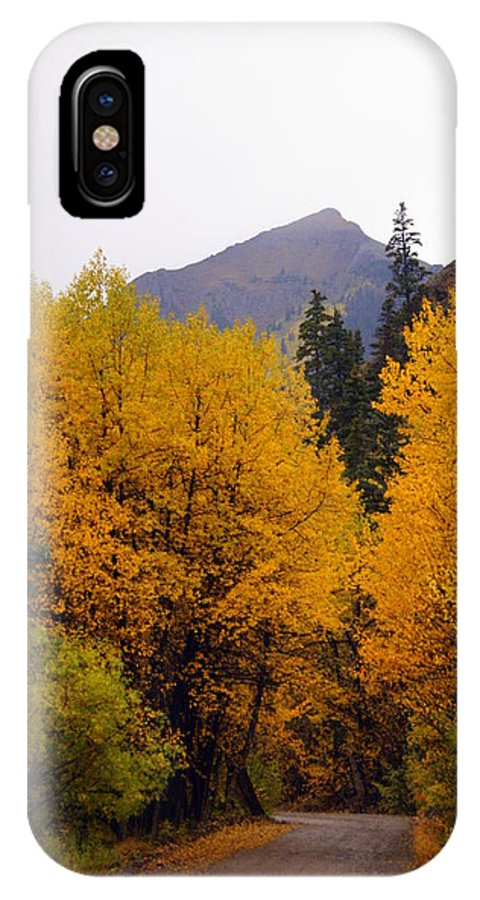 Fall Colors IPhone X Case featuring the photograph Colorado Road by Marty Koch