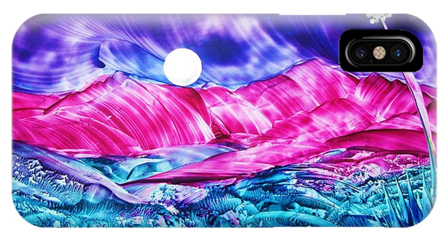 Bold IPhone Case featuring the print Colorful Desert by Melinda Etzold