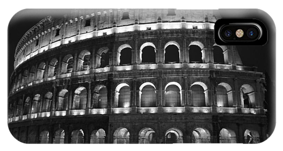 Italy IPhone Case featuring the photograph Colosseum by Kathy Schumann