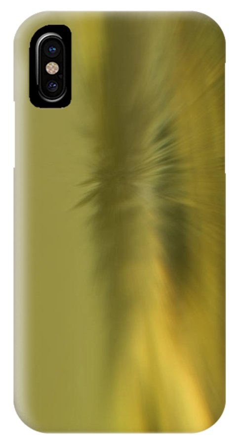 Blur IPhone X Case featuring the photograph Coloured Blur by Cliff Norton