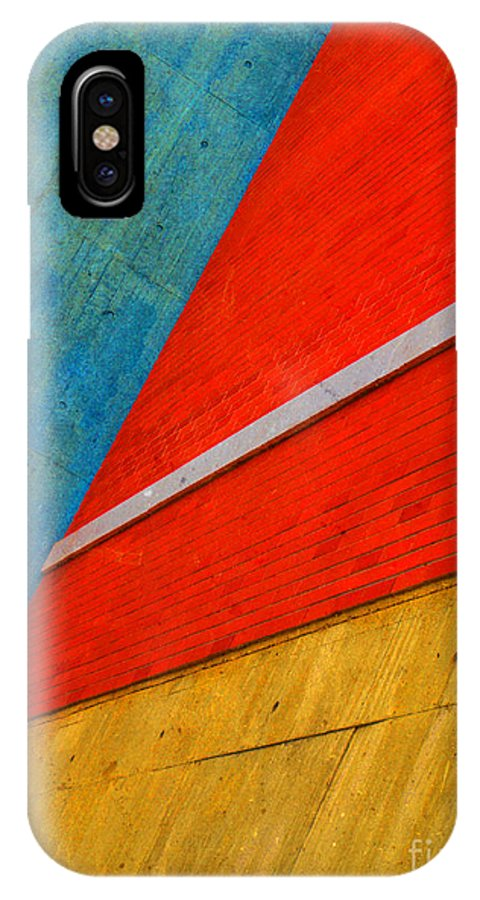 Architechure IPhone X Case featuring the photograph Colours And Shapes by Tara Turner
