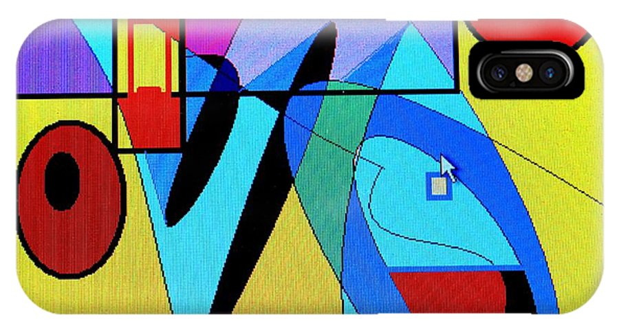 Horn IPhone Case featuring the digital art Come Blow Your Horn by Ian MacDonald