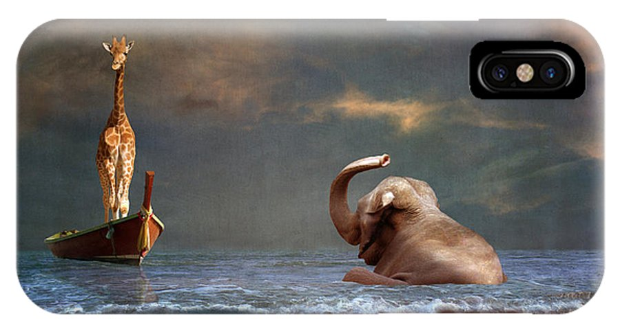 Sea IPhone X / XS Case featuring the photograph Come On My Friend by Martine Roch