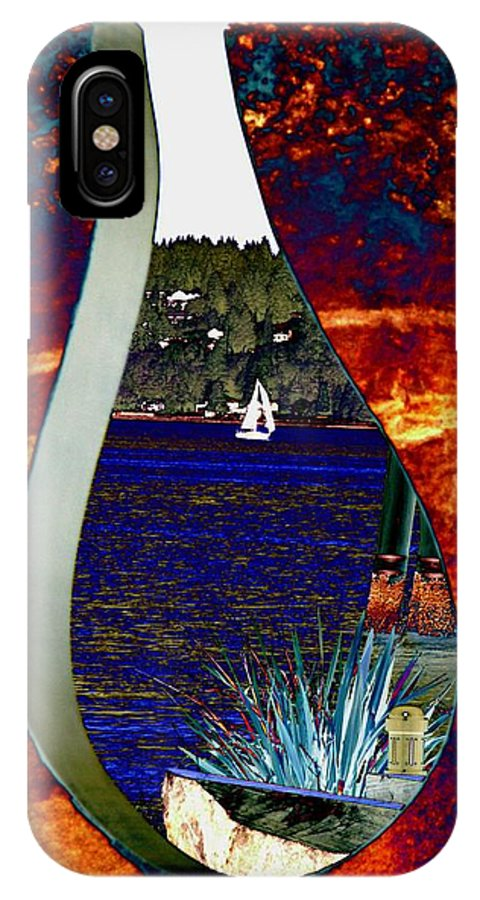 Bremerton IPhone X Case featuring the photograph Come Sail Away by Tim Allen