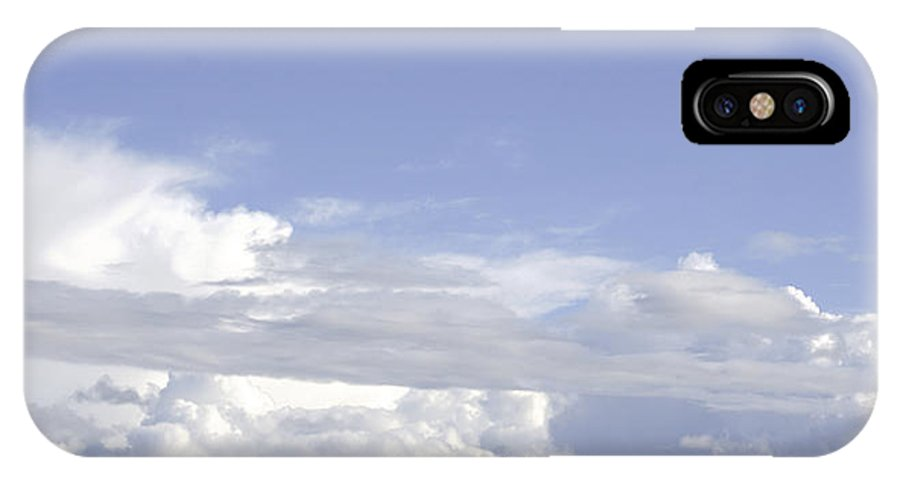 Clouds IPhone X Case featuring the photograph Comet by Viktor Savchenko