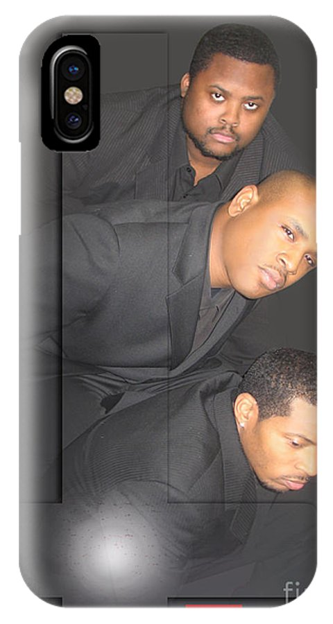 Performers IPhone X Case featuring the photograph Coming Soon-in Atwinkle Of An Eye by Reggie Duffie