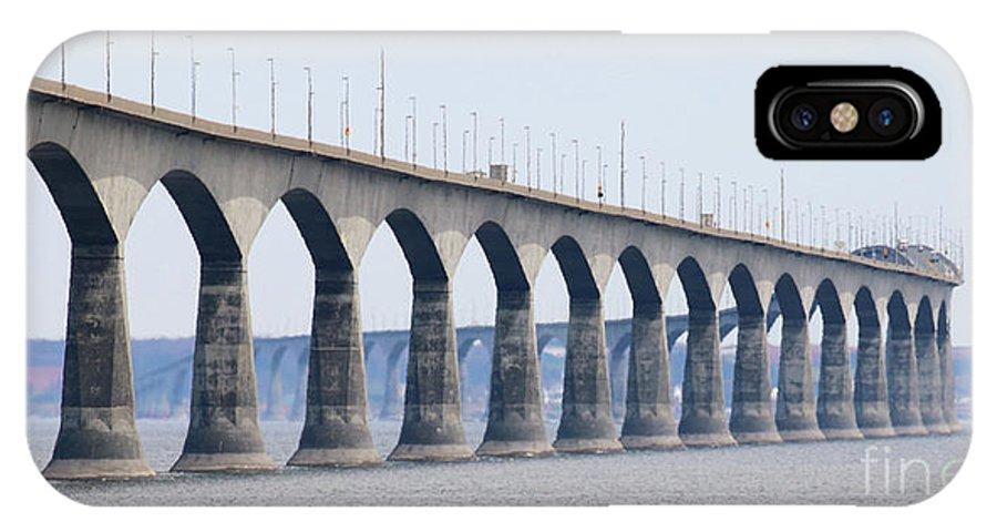 Prince Edward Island IPhone X Case featuring the photograph Confederation Bridge 5511 by Jack Schultz