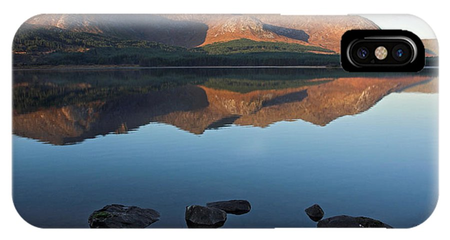 Connemara IPhone X Case featuring the photograph Connemara Morning Ireland by Pierre Leclerc Photography